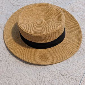 COPY - NEGOTIABLE Natural Straw Boater